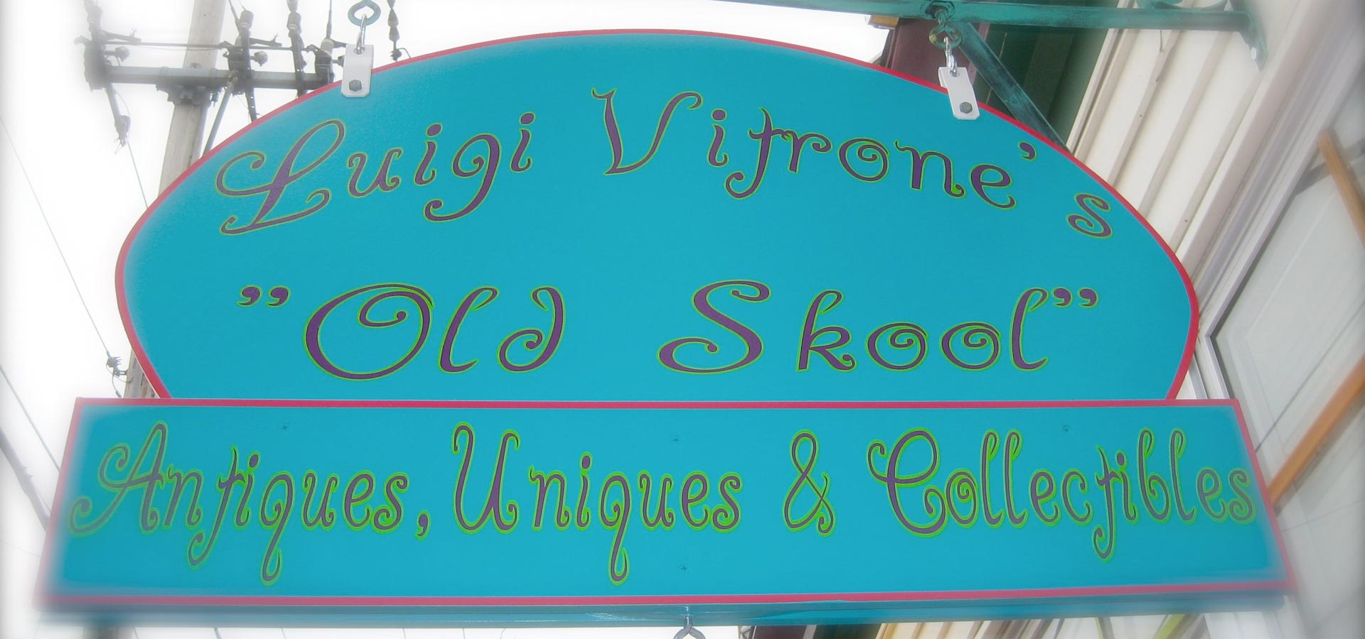 Luigi Vitrone's Old Skool Antiques