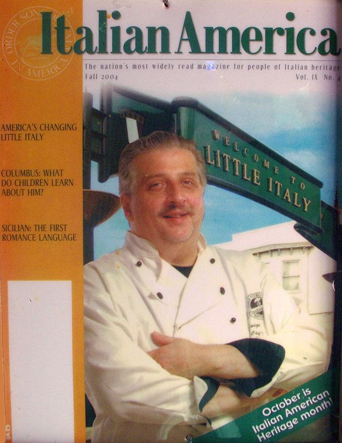 Luigi Vitrone Italian American Magazine